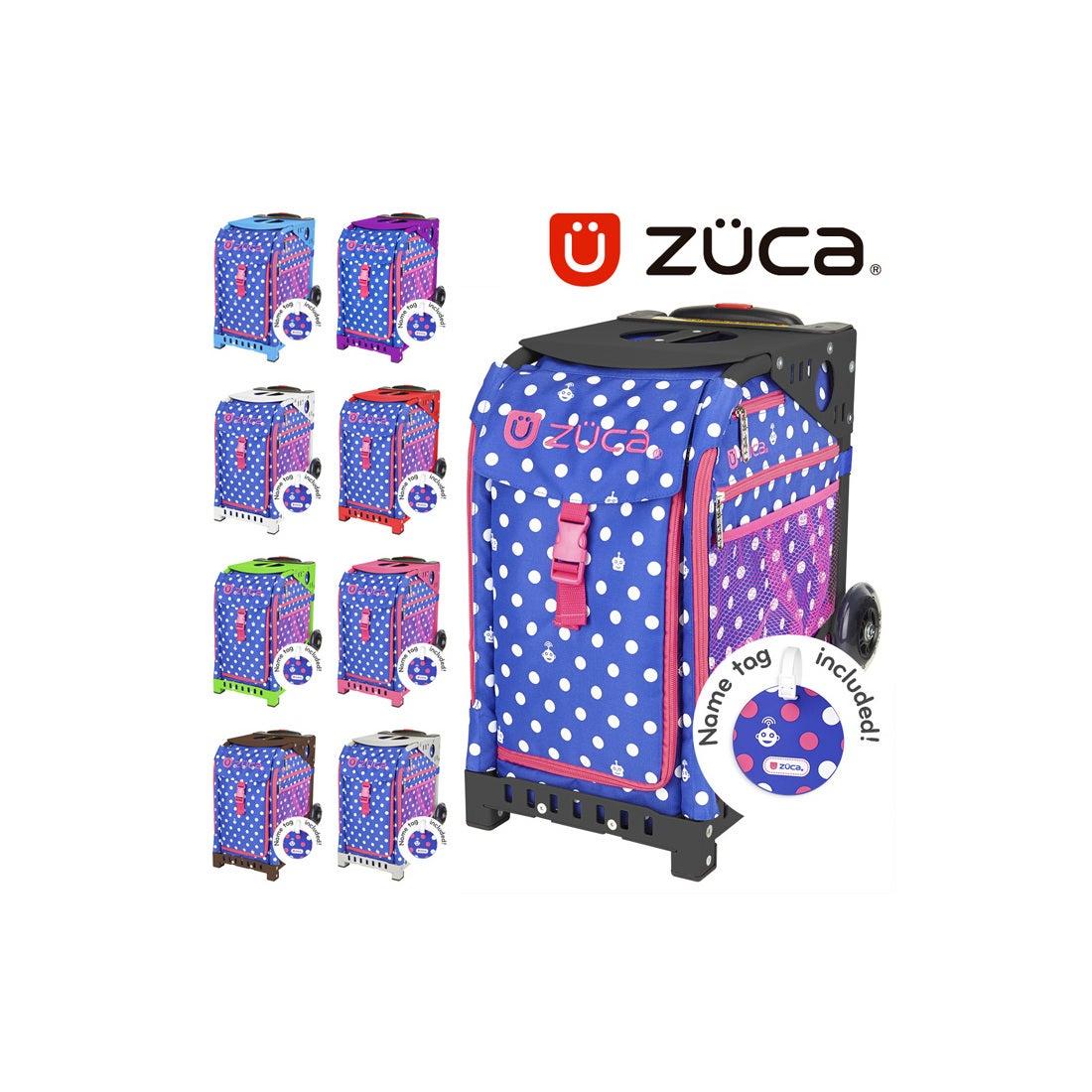 ロコンド 靴とファッションの通販サイト【SAC'SBAR】ZUCASportキャリーケースPolkaBots345Black(NonFlashWheel)