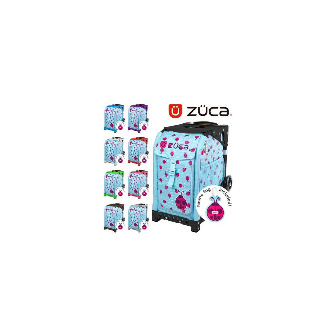 ロコンド 靴とファッションの通販サイト【SAC'SBAR】ZUCASportキャリーケースLadybugz341Black(NonFlashWheel)