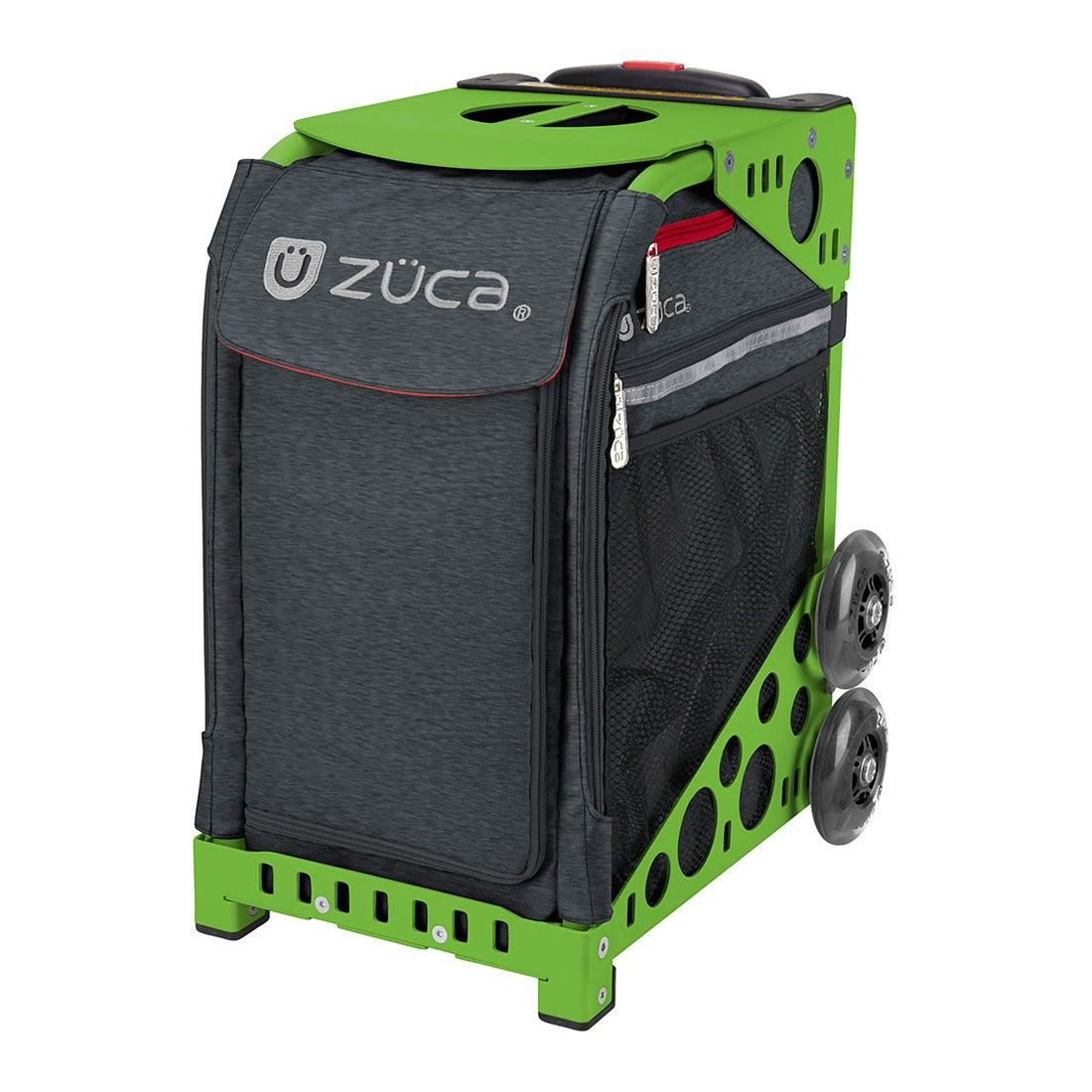 【SAC'S BAR】ZUCA Sport キャリーケース Asphalt Gray 404 Green メンズ