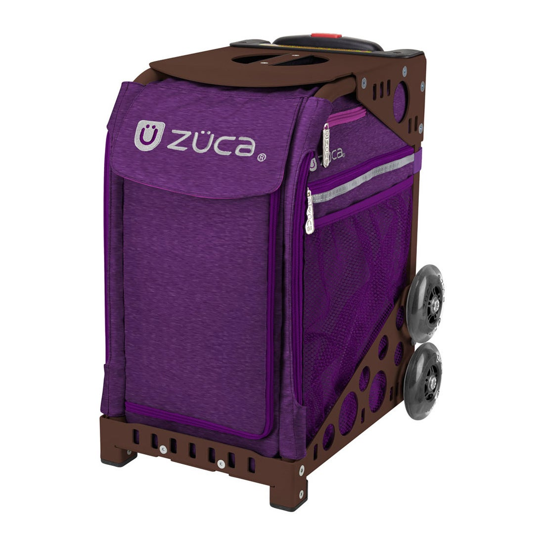 ロコンド 靴とファッションの通販サイト【SAC'SBAR】ZUCASportキャリーケースCosmicPurple401Brown