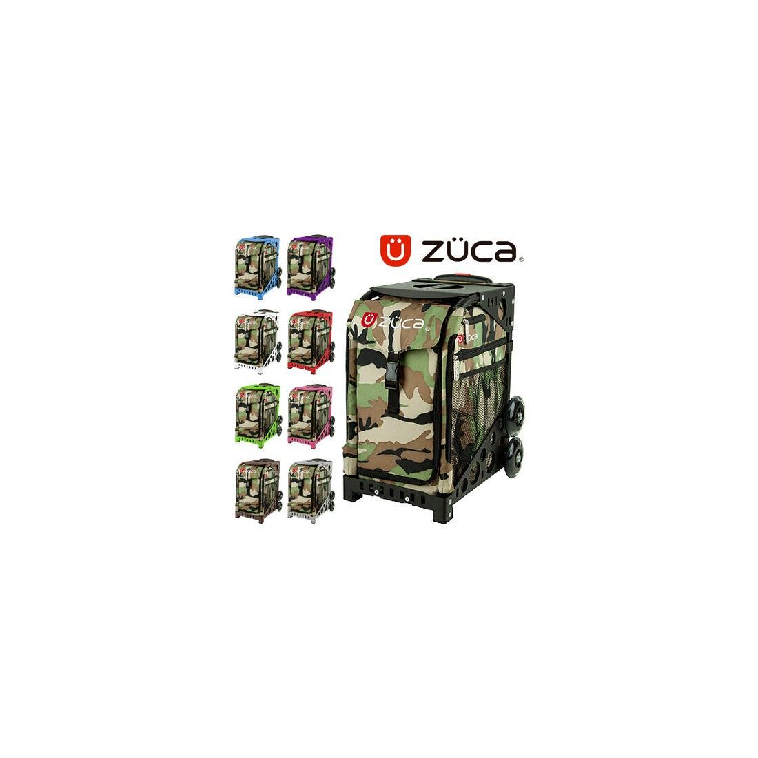 ロコンド 靴とファッションの通販サイト【SAC'SBAR】ZUCASportキャリーケースCamo108Purple