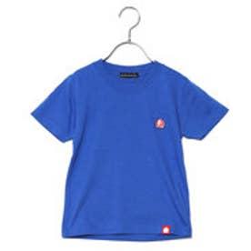 カズユキ タキシタ KAZUYUKI TAKISHITA モモワッペンTシャツ (青)