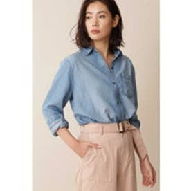 [Weekend Line]デニムシャツ ブルー