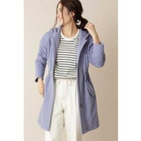 ◆大きいサイズ◆[Weekend Line] ウールモッズコート ブルー