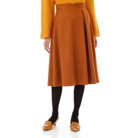 サキソニーストレッチスカート キャメル8