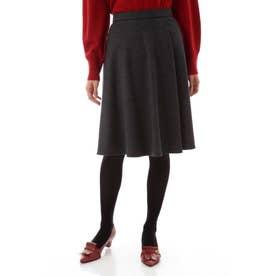 シルキースムーススカート グレー2
