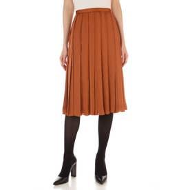 ◆ドラマ 乙葉さん着用◆サテン広幅スカート キャメル8