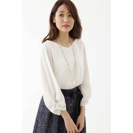◆ドラマ 乙葉さん着用◆NOIE2WAYポプリン ホワイト