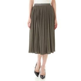 ◆コットンライクジャージースカート カーキ