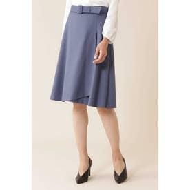 ハイカウントサキソニースカート ブルー
