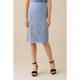 レースタイトスカート ブルー