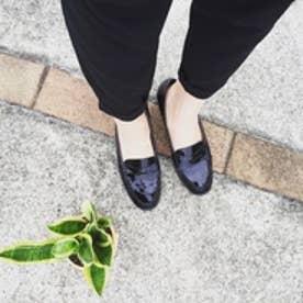 【ガマンしない靴】クレア CREA ウエッジ (ブラック)【雑誌CREAコラボ商品】