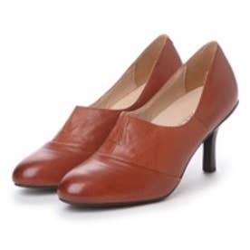 【ガマンしない靴】クレア CREA パンプス (ブラウン)【雑誌CREAコラボ商品】