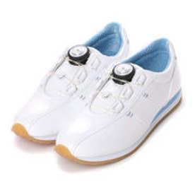 【ガマンしない靴】クレア CREA リールフィットシューズ (ホワイト)【雑誌CREAコラボ商品】