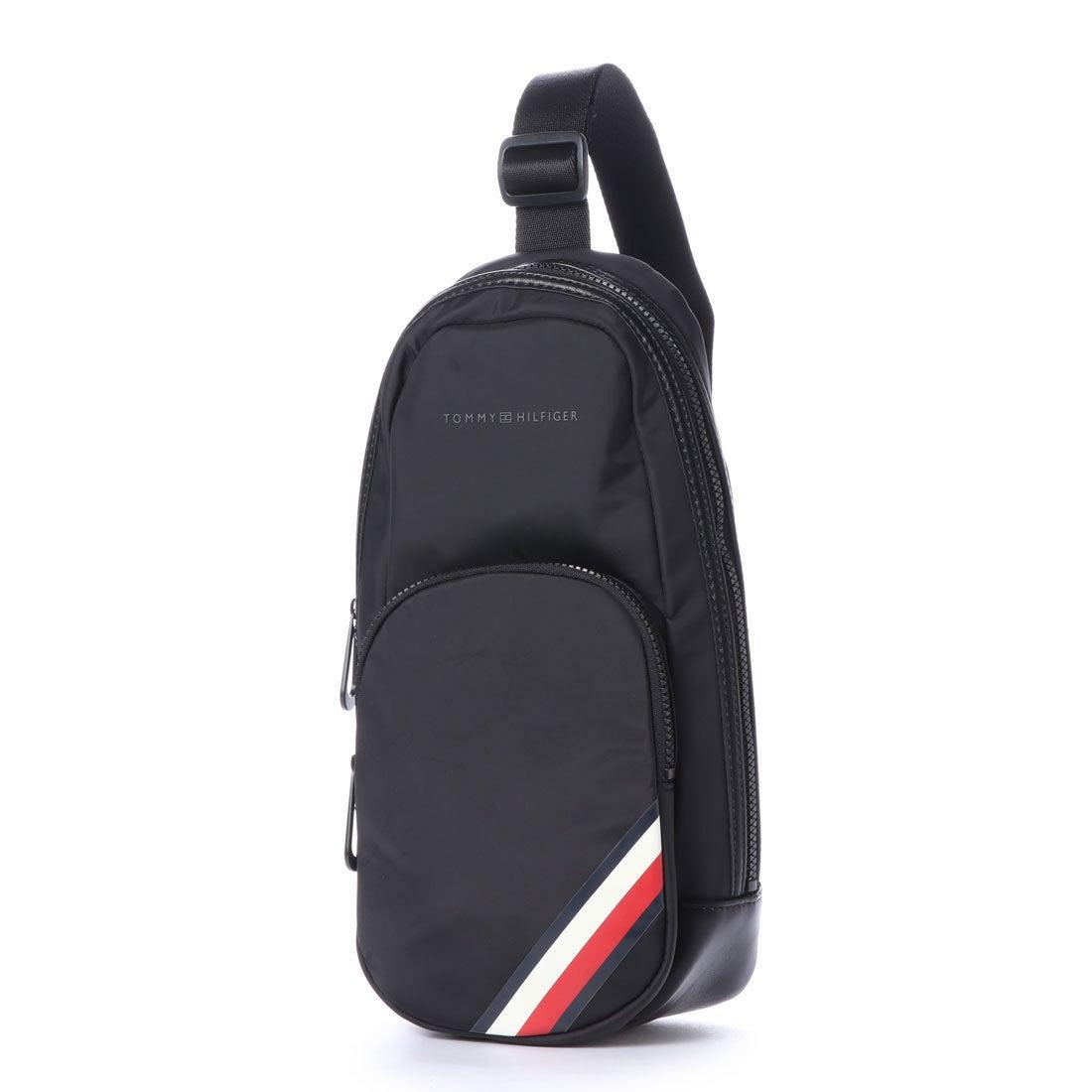 ロコンド 靴とファッションの通販サイトトミーヒルフィガー TOMMY HILFIGER ナイロンボディバッグ (ブラック)