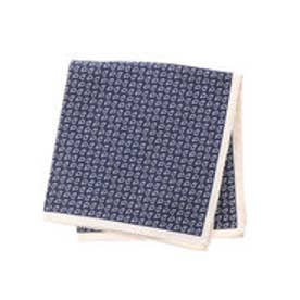 トミーヒルフィガー TOMMY HILFIGER Pocket Square PSQDSN16201 (ネイビー)