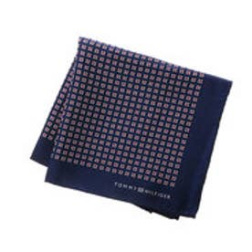 トミーヒルフィガー TOMMY HILFIGER Pocket square PSQDSN16102 (レッド)