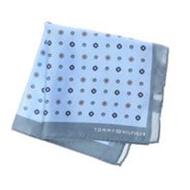 トミーヒルフィガー TOMMY HILFIGER Pocket Square PSQDSN16301 (ライトブルー)
