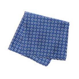 トミーヒルフィガー TOMMY HILFIGER Pocket Square PSQDSN16303 (ブルー)