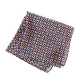 トミーヒルフィガー TOMMY HILFIGER Pocket Square PSQDSN16303 (オレンジ)