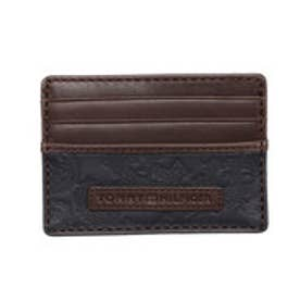 トミーヒルフィガー TOMMY HILFIGER HEAVY STITCH CC HOLDER (ネイビー)