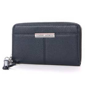 トミーヒルフィガー TOMMY HILFIGER CITY LEATHER SLIM MED Z/A WALLET (グレー)