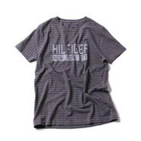 トミーヒルフィガー TOMMY HILFIGER ボーダープリントショートスリーブTシャツ