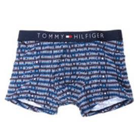 トミーヒルフィガー TOMMY ロゴプリントボクサーパンツ (ブルー)
