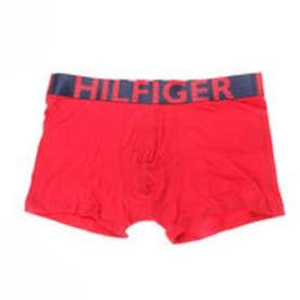 トミーヒルフィガー TOMMY HILFIGER コットンストレッチボクサーブリーフ (レッド)【返品不可商品】