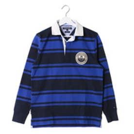 トミーヒルフィガー TOMMY HILFIGER ラガーシャツ (ブルー)