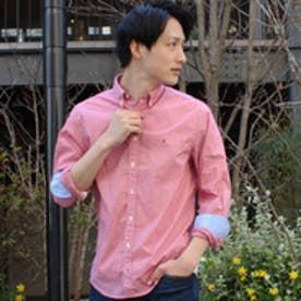 トミーヒルフィガー TOMMY HILFIGER ギンガムチェックシャツ (ピンク)