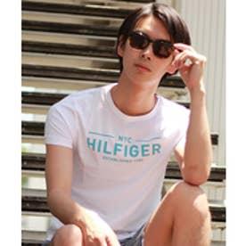 トミーヒルフィガー TOMMY HILFIGER ロゴTシャツ (ホワイト)
