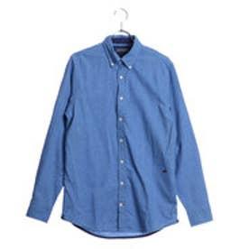 トミーヒルフィガー TOMMY HILFIGER SFブルードビーシャツ (ブルー)