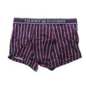 トミーヒルフィガー TOMMY HILFIGER ストライプトランク (ネイビー)【返品不可商品】