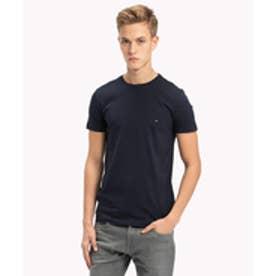 トミーヒルフィガー TOMMY HILFIGER ベーシッククルーネックTシャツ (ネイビー)