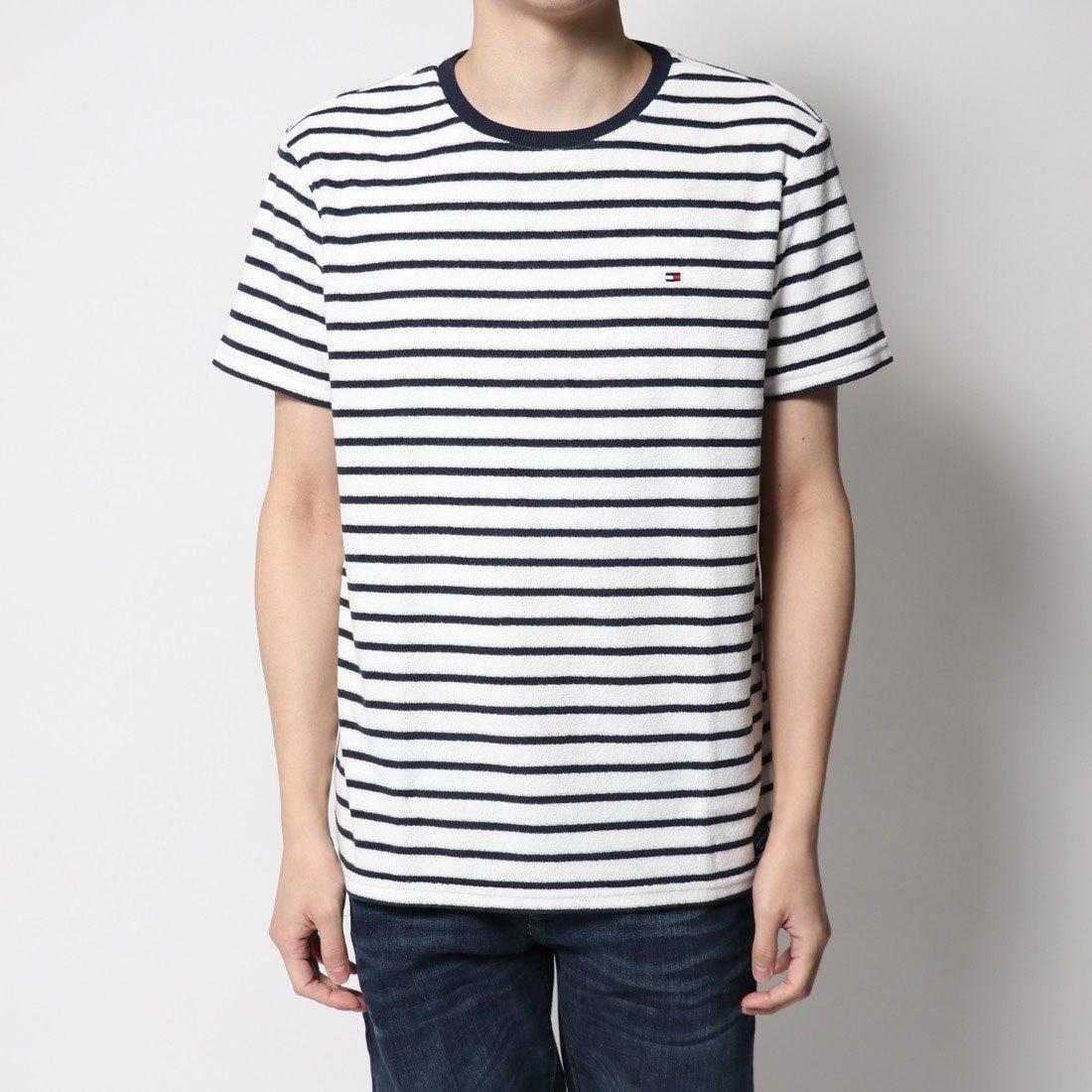 ロコンド 靴とファッションの通販サイトトミーヒルフィガー TOMMY HILFIGER 1ポイントリラックスTシャツ (ホワイト)