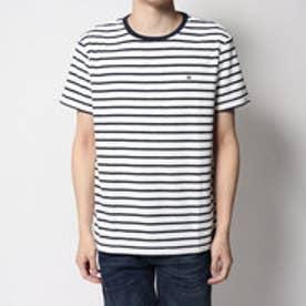 トミーヒルフィガー TOMMY HILFIGER 1ポイントリラックスTシャツ (ホワイト)