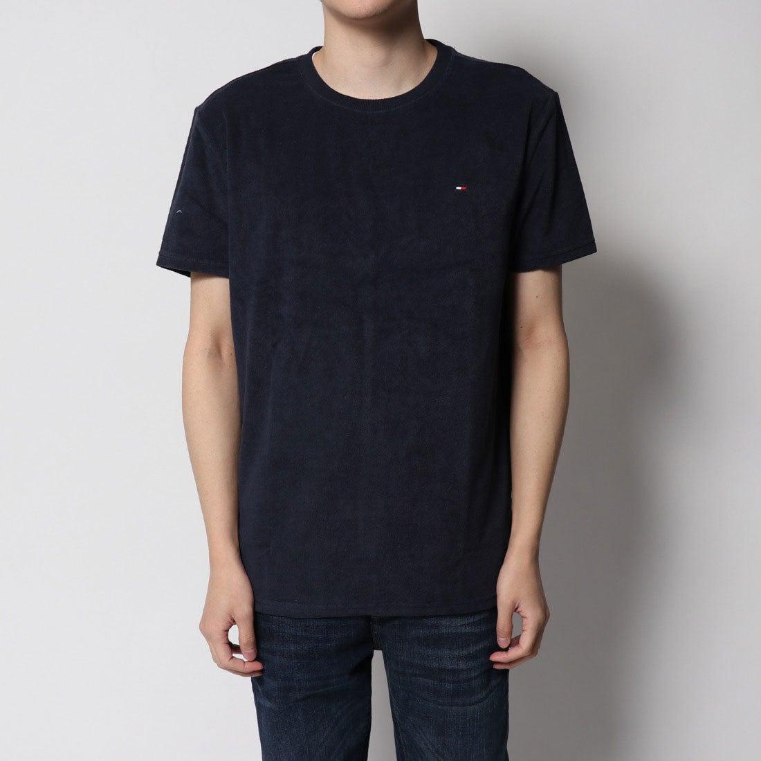 ロコンド 靴とファッションの通販サイトトミーヒルフィガー TOMMY HILFIGER 1ポイントリラックスTシャツ (ネイビー)