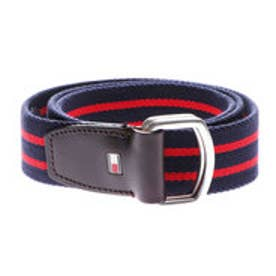 トミーヒルフィガー TOMMY HILFIGER TH STP WEBBING BELT 3.5 (ブルー)