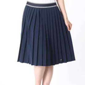 トミーヒルフィガー TOMMY HILFIGER JILLIAN PLISSE SKIRT (ネイビー)