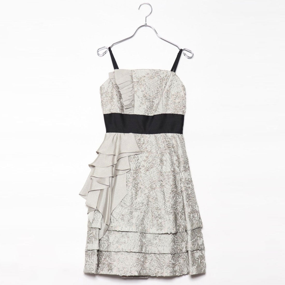 8016bc94b2a73 ジュネビビアン Genet Vivien パニエ付きドレス (ベージュ) -アウトレット通販 ロコレット (LOCOLET)