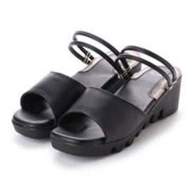 ドクター ショール Dr.Scholl Scholl 2WAY Gel Sandals (Black)