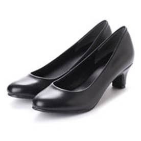 ドクター ショール Dr.Scholl Scholl Round Leather Pumps (Black)