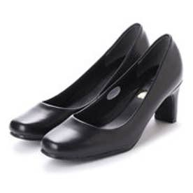 ドクター ショール Dr.Scholl Scholl Square Leather Pumps (Black)