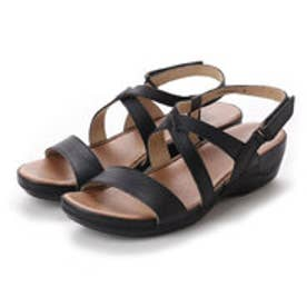ドクター ショール Dr.Scholl Scholl Comfort Crossed Belt Sandals (Black)