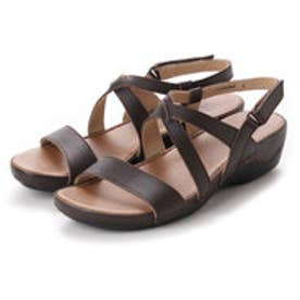 ドクター ショール Dr.Scholl Scholl Comfort Crossed Belt Sandals (DK.Brown)