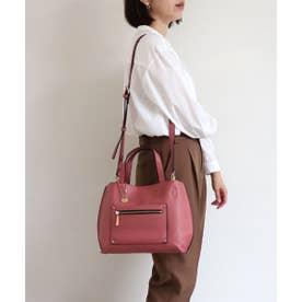 トライシル Trysil ポケット付き2wayトートバッグ (ピンク)