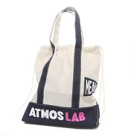 アトモス atmos VOTE make new clothes for atmos TOTE GYM SACK (WHITE/NAVY)