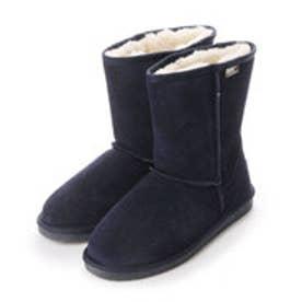 ビーチフィート BEACH FEET 撥水加工牛革スエード CLASSIC Boots-lo (NVY)