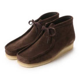 クラークス Clarks CLARKS WALLABEE BOOT (DARKBROWN)